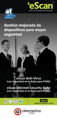 eScan AntiVirus - Internet Security